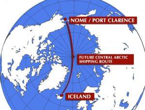 Próxima ruta trans-ártica