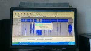 Segunda parte del octavo episodio en proceso de edición.