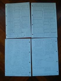 Últimas páginas del diagrama de acontecimientos.