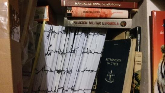 Material estudiado y archivado