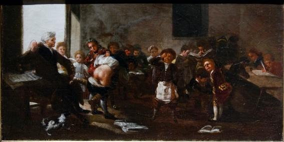 La letra con sangre entra - Francisco de Goya