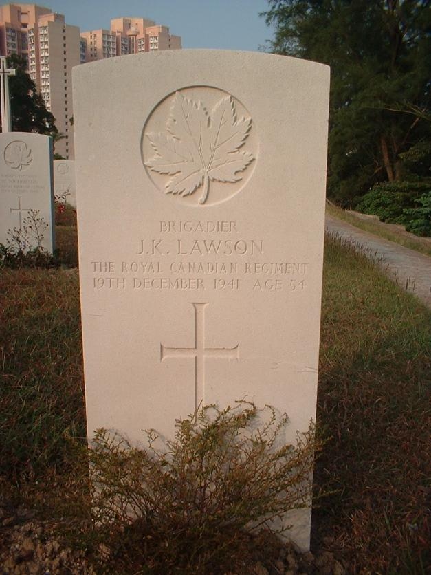 JK Lawson Grave
