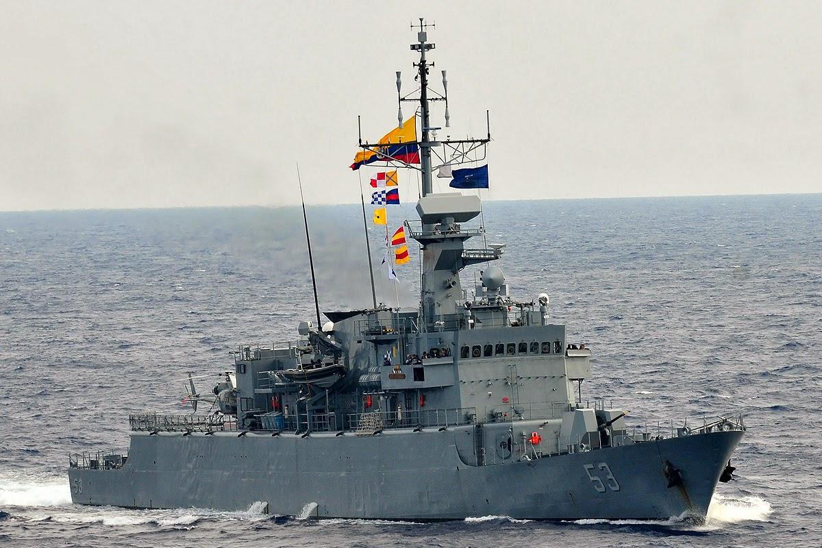 ARC Almirante Padilla Armada Colombia Fragata