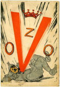 """La """"V"""" naranja, símbolo de la Resistencia holandesa"""