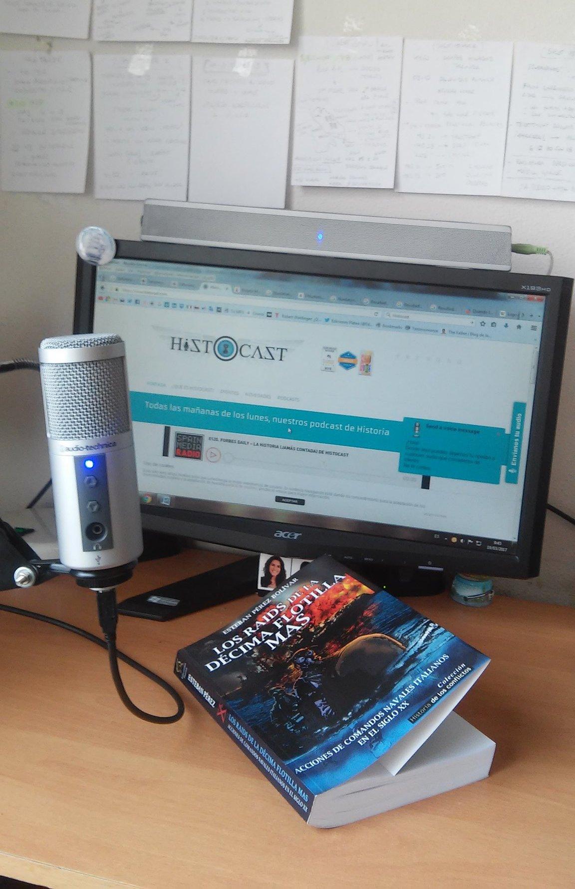 Gran sesión de grabación con Histocast. El tema: la Xª Flotilla MAS ...
