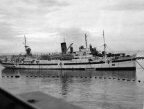 El Newfoundland, buque hospital británico