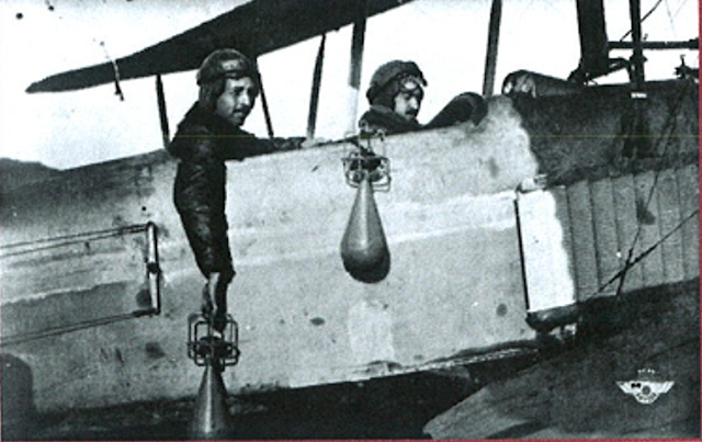 Primer bombardeo España