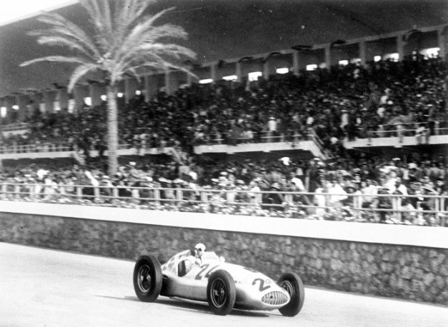 Tripoli 1 - 75 years ago double victory for Mercedes-Benz at Tripoli Grand Prix with the W 165 Silver Arrow