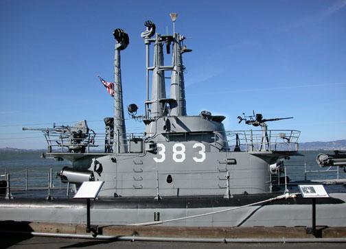 RADAR - SV & SJ USS Pampanito