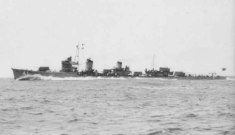 Yamagumo en 1939