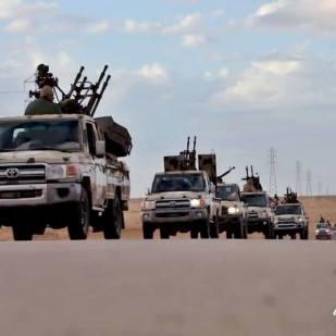 Guerreando en Libia hoy día