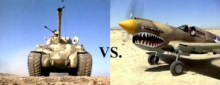 Tanque vs. avión I