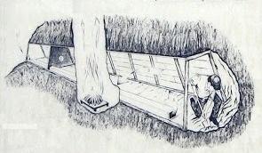 Vista del ingenioso sistema de ventilación