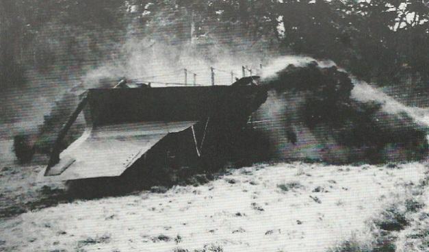 El hacedor de trincheras de Churchill IV