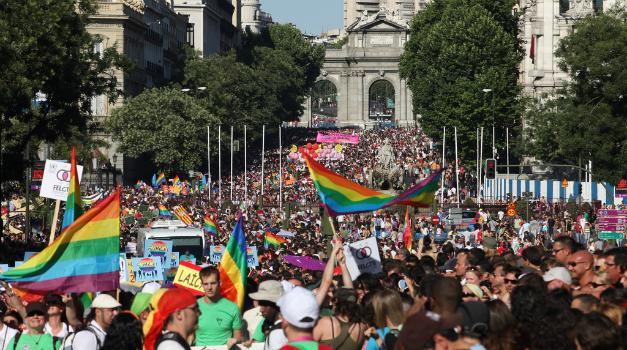 Desfile Día del Orgullo Madrid