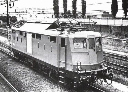 E.424 FS - Locomotora eléctrica diseñada en autarquía