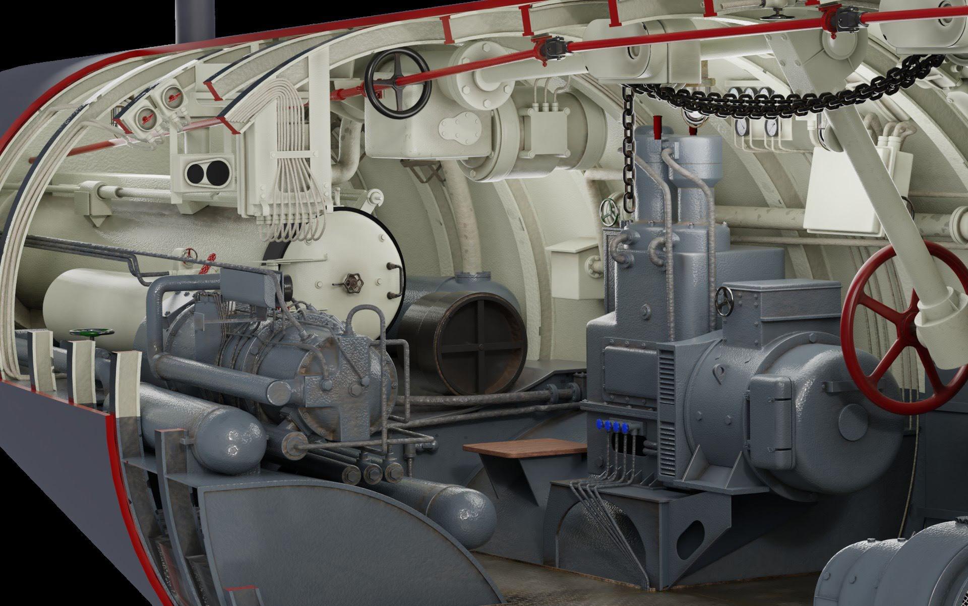 German Type VIIC U-Boat