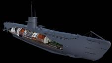La nave con el carenado externo