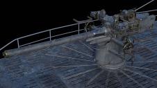 Detalle del cañón naval de 88 mm