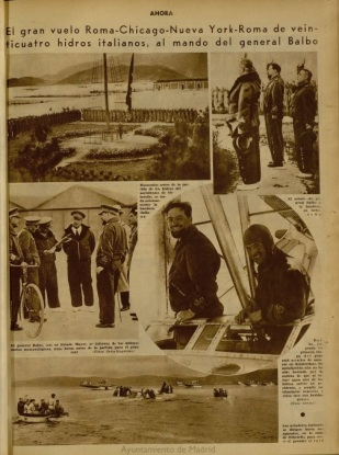 2ª etapa VII - Londonderry - Periódico madrileño Ahora 4JUL33