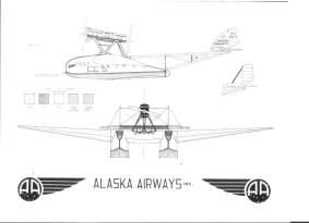 El S.55P de pasajeros no solo voló en el Mediterráneo, también en Alaska y Siberia
