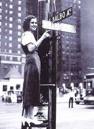 La Avenida Balbo aún se sigue llamando así en Chicago