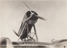 Cabina y barquilla motores de un S.55X