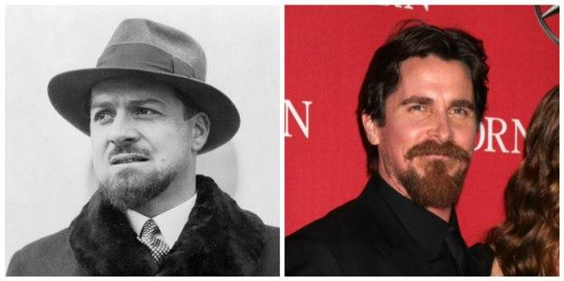 Ítalo Balbo y Christian Bale
