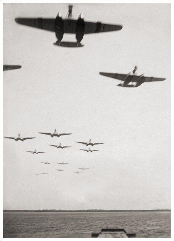 S.55 en vuelo I