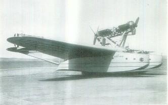 S.55 militar con torpedo con ametralladores