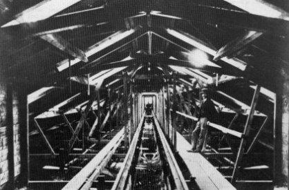Tanque de pruebas de Chelston Cross, Torquay, en 1871