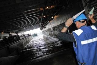 El dique inundable del L-61