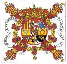 Bandera española en 1821