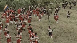 Tropas patriotas en Carabobo