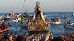 Procesión marinera del Día del Carmen