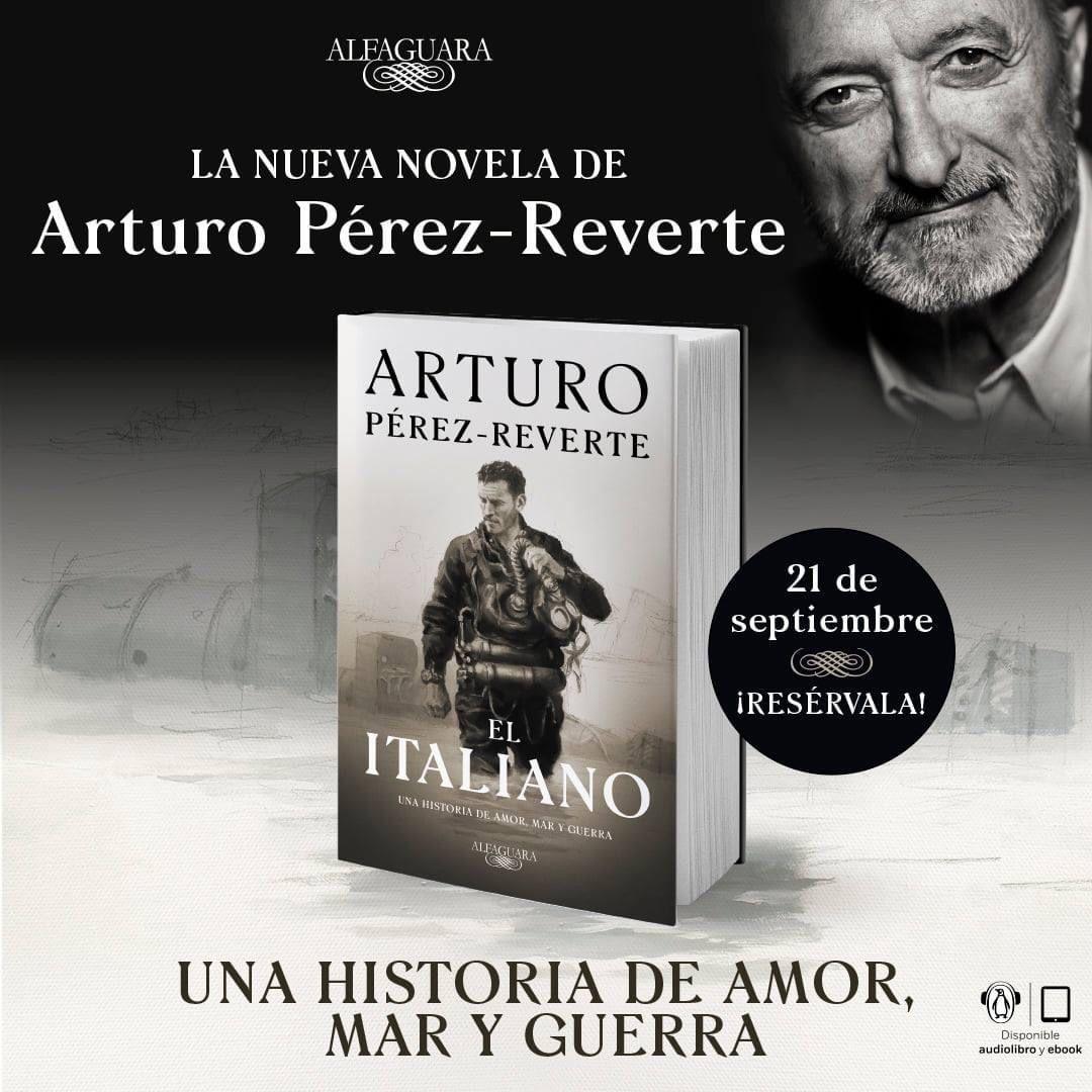 El Italiano, de Arturo Pérez-Reverte