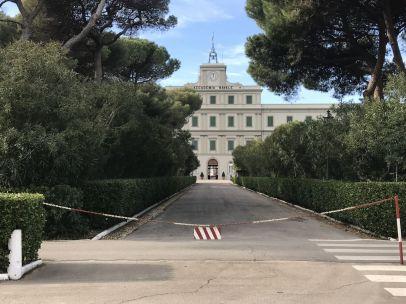 Entrada principal Accademia Navale di Livorno