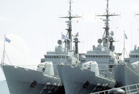 F24 y F25, dos de los barcos en los que el autor de este podcast sirvió