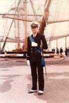 Como guardiamarina en Livorno