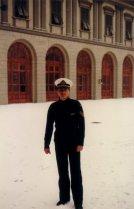Durante una nevada histórica