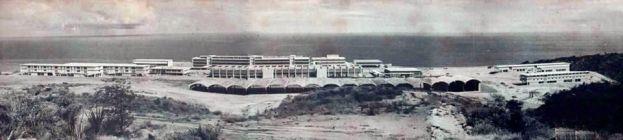 Escuela Naval de Venezuela en construcción (años 60)