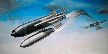 Lanzamiento de un misil HS-293