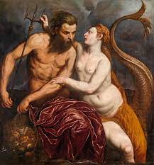 Anfitrite y Poseidón en la antigua Grecia