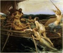 Ulises y las sirenas - Pintura de 1909